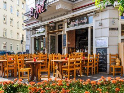 D. Jose Restaurant Hamburg Portugiesenviertel Außenbereich