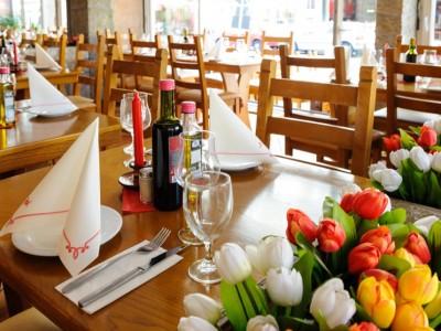 D. Jose Restaurant Hamburg Portugiesenviertel gedeckter Tisch