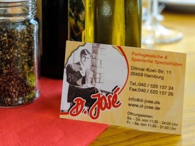 D. Jose Restaurant Hamburg Portugiesenviertel portugiesische und spanische Spezialitaeten