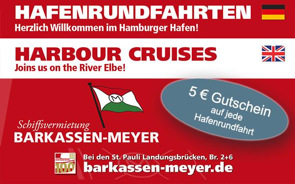 5€ Gutschein Barkassen Meyer